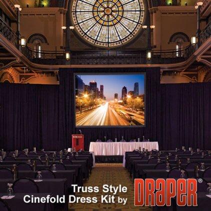 "Экран Draper Truss-Style Cinefold NTSC (3:4) 762/300"" 457*610 MW"