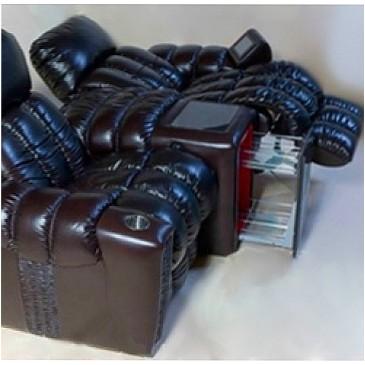 Кресло для домашнего кинотеатра Home Cinema Hall Luxury Консоль увеличенная с баром (охлаждающий элемент в комплекте) ALCANTARA/175