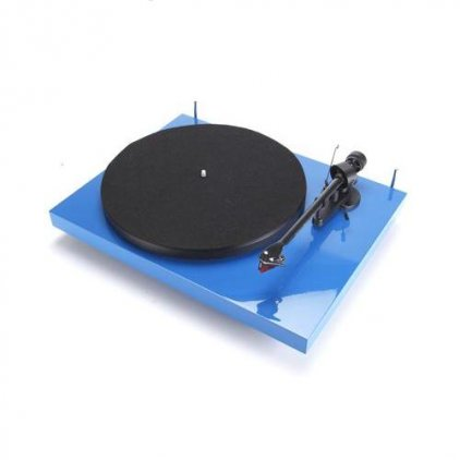 Проигрыватель винила Pro-Ject Debut Carbon Phono USB (DC) blue (Ortofon OM10)