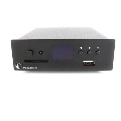 Сетевой аудио проигрыватель Pro-Ject Media Box S silver