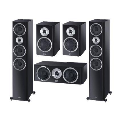 Комплект акустики Heco Elementa set 5.0 black satin
