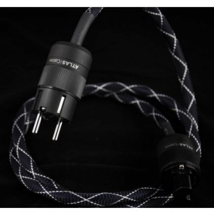Сетевой кабель Atlas Eos MKII 2.0mm (Rhodium Schuko-IEC) 1.5m