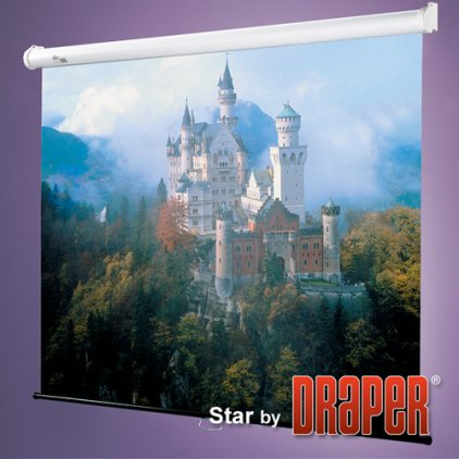 """Экран Draper Star AV (1:1) 50/50"""" 127*127 MW (XT1000E) 209001"""