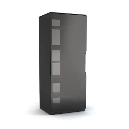 Подставка под аппаратуру MD 155.0650 Planima (черный/дымчатое стекло)