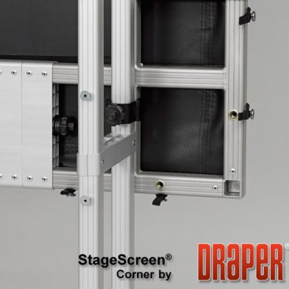"Экран Draper Stagescreen NTSC (3:4) 1143/450"" 686*914 Cineflex"