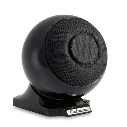 Полочная акустика Cabasse iO2 on base (Glossy black)