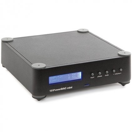 Стереоусилитель Wadia 151 Power DAC mini Black
