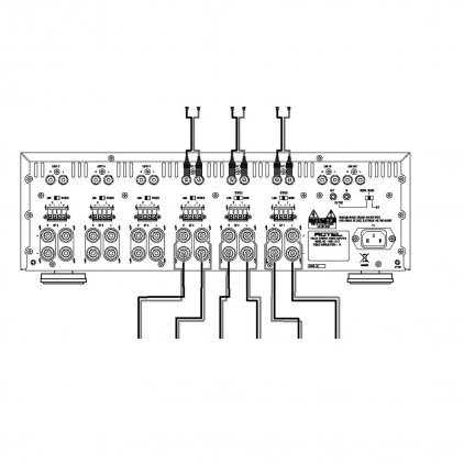 Усилитель мощности Rotel RMB-1512 silver
