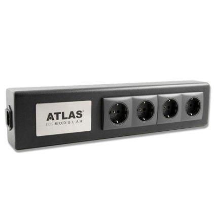 Сетевой фильтр Atlas Eos Modular (1 розетка с фильтарцией, 3 розетки без фильтрации)