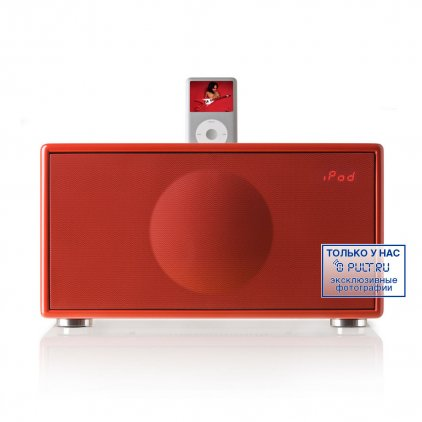 iPod Hi-Fi Geneva Sound M+CD Red
