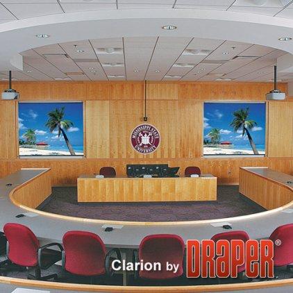 "Экран Draper Clarion NTSC (3:4) 381/150"" 229*305 HDG"