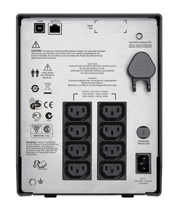 APC Smart-UPS C SMC1500I 1500VA black