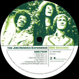 Виниловая пластинка Jimi Hendrix BBC SESSIONS (180 Gram/Remastered)