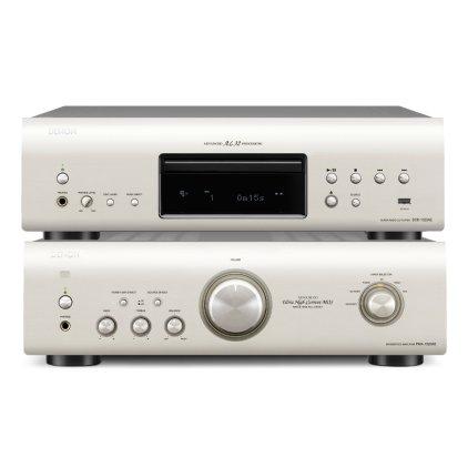 Стереокомплект Denon PMA-1520AE + DCD-1520AE silver