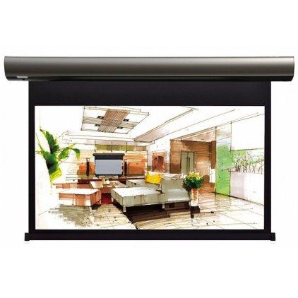 """Экран Lumien Cinema Control 185x230 см (раб.область 125х222 см) (100"""") Matte White FiberGlass (чёрный корпус) LCC-100104"""