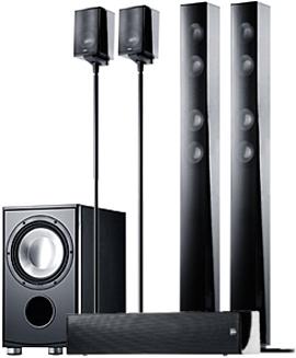 Напольная акустика Canton CD 1090 black high gloss