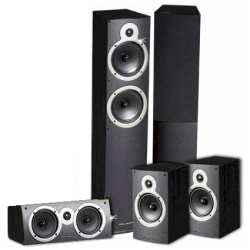 Комплект акустики Wharfedale Crystal CR-30.41C blackwood