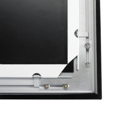 """Экран Digis DSVFS-16908 (VELVET, формат 16:9, 154"""", 208 х 357, рабочая поверхность 191 х 340, MW, обтянут чёрным бархатом)"""