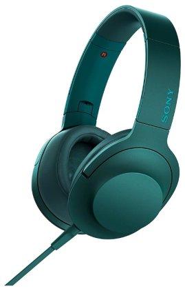 Наушники Sony MDR-100AAP blue