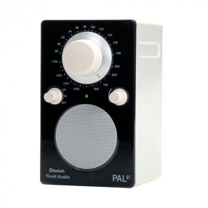Радиоприемник Tivoli Audio PAL BT glossy black/white