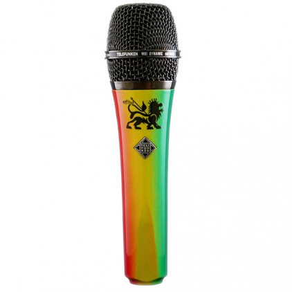 Микрофон Telefunken M80 reggae (green, yellow, red)