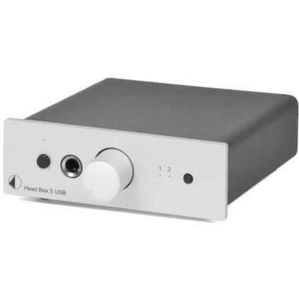 Усилитель для наушников Pro-Ject Head Box S USB silver