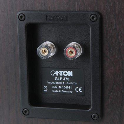 Напольная акустика Canton GLE 476 walnut/black