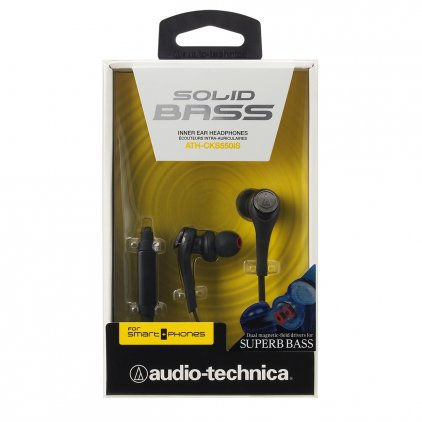 Наушники Audio Technica ATH-CKS550iS black
