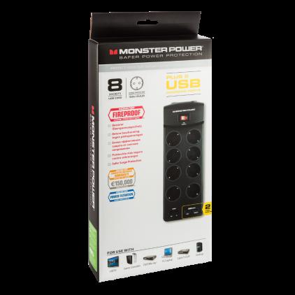 Сетевой фильтр Monster MP EXP 800U DE (121860-00)