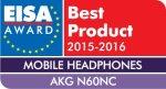 EISA BEST MOBILE HEADPHONES 2015-2016