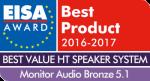 Лучший европейский комплект акустических систем  для домашнего кинотеатра 2016 – 2017