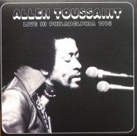 Виниловая пластинка Allen Toussaint LIVE IN PHILADELPHIA 1975 (RSD 2016/180 Gram)