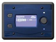Систему мультирум BSS BSS BLU10 программируемая настенная панель управления для серии BLU. Цвет синий