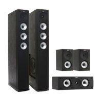 Комплект акустики Jamo S 628 HCS black ash