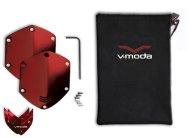Сменные накладки для наушников V-Moda XS / M-80 On-Ear Metal Shield Kit Red