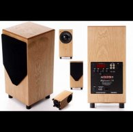 Сабвуфер MJ Acoustics Ref 210 walnut
