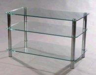 Мебель MD 507 Plazma (серебро/прозрачное стекло)