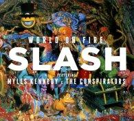 Виниловая пластинка Slash WORLD ON FIRE (Red vinyl/180 Gram)