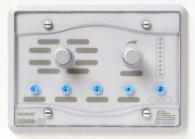 Систему мультирум BSS BSS BLU8- WHT программируемая настенная панель управления серии BLU. Цвет белый