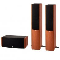 Boston Acoustics A360 + A225C grain wood