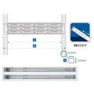 Комплект скользящих направляющих Synology RKS1317 1U-2U Slide Rail Kits