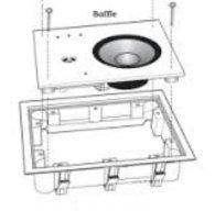 Аксессуары для акустики Revel IW65 (монтажная рама) RIB 6W