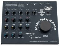 Микшер WORK MARS MINI Mix5 AMP