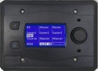 Систему мультирум BSS BSS BLU10-BLK программируемая настенная панель управления для серии BLU. Цвет черный