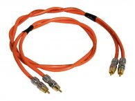Межблочный аудио кабель Black Rhodium Harmony 1.5m