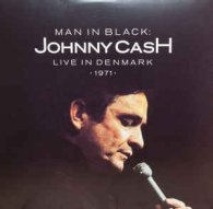 Виниловую пластинку Johnny Cash MAN IN BLACK: LIVE IN DENMARK 1971 (White And Red vinyl)