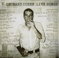 Виниловая пластинка Leonard Cohen LIVE SONGS (180 Gram/Remastered)