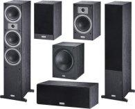 Комплект акустики Magnat Tempus 77 + 33 + Center 22 + SW 300 A black