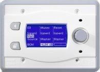 Систему мультирум BSS BSS BLU10-WHT программируемая настенная панель управления для серии BLU. Цвет белый
