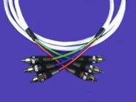 Кабель межблочный видео Supra 3RCA - 3RCA Cable 12m